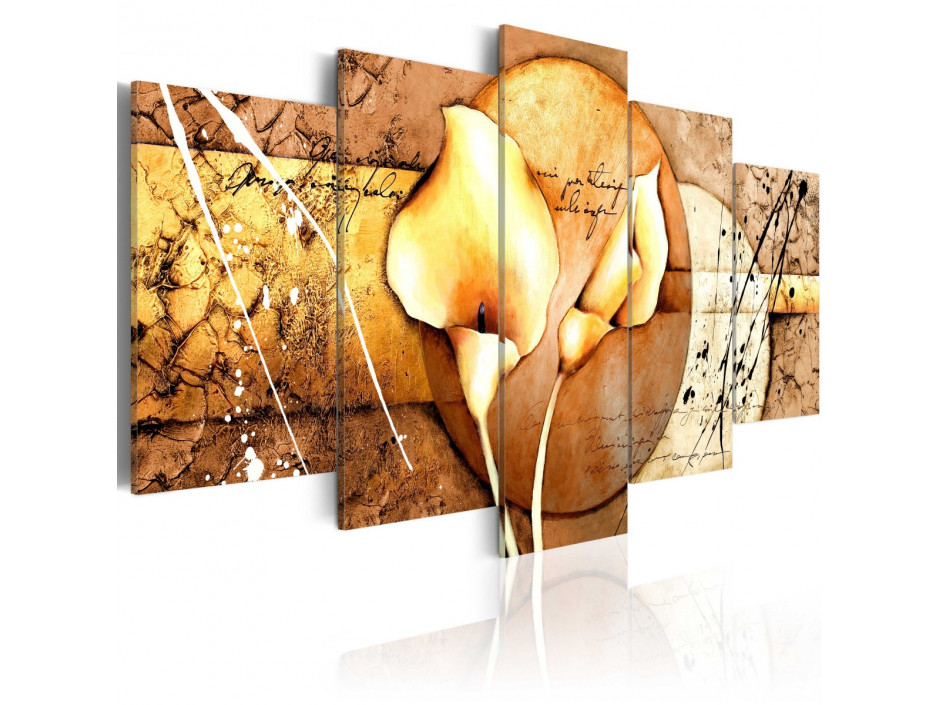 Tableau  The Secret of Calla Lily  Gold