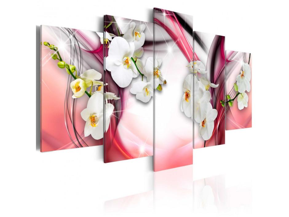 Tableau - Mélodie rose