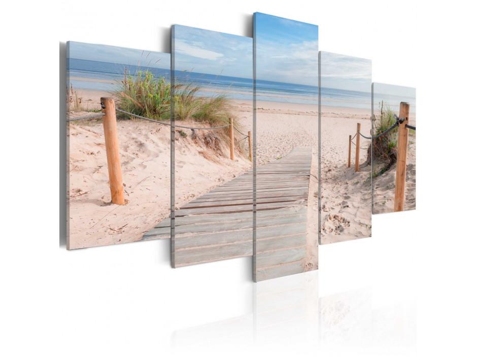 Tableau  Matinée sur la plage