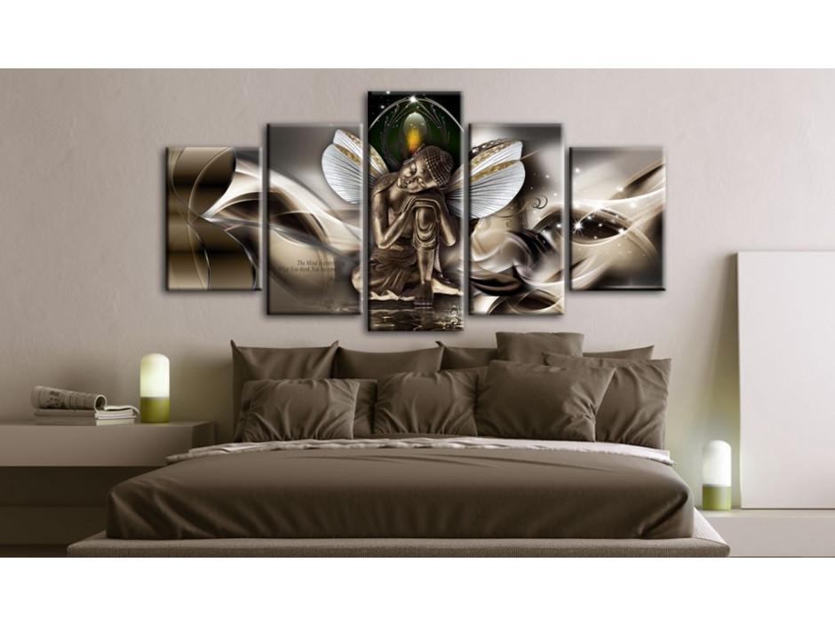 Tableau  Winged Buddha