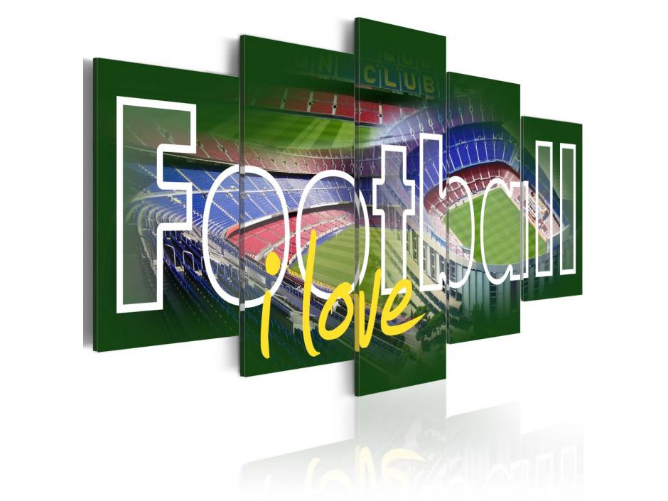 Tableau - I Love Football