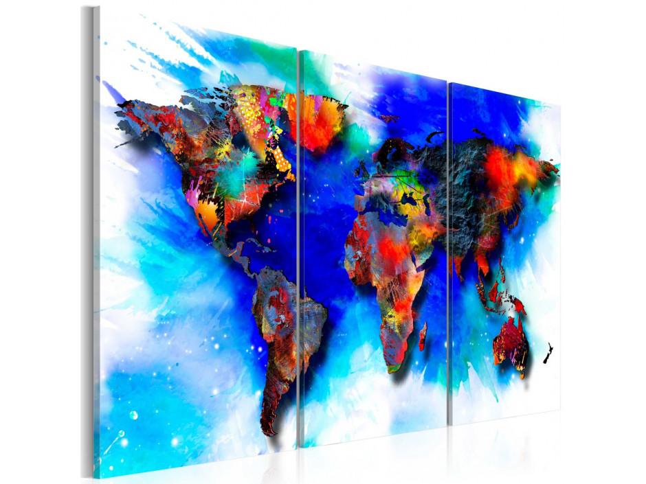 Tableau  Rainbow map