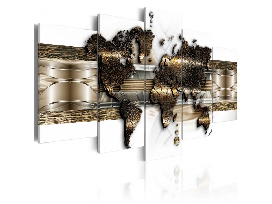 Tableau - Metalic World