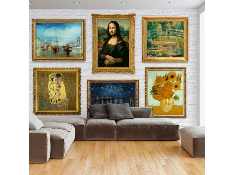Papier peint  Wall of treasures