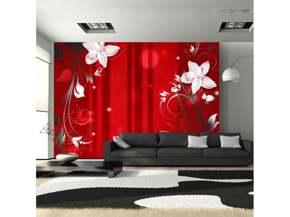 Papier peint  Flowering scarlet
