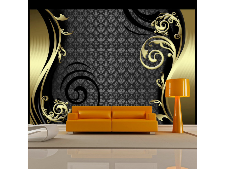 Papier peint  Golden curtain