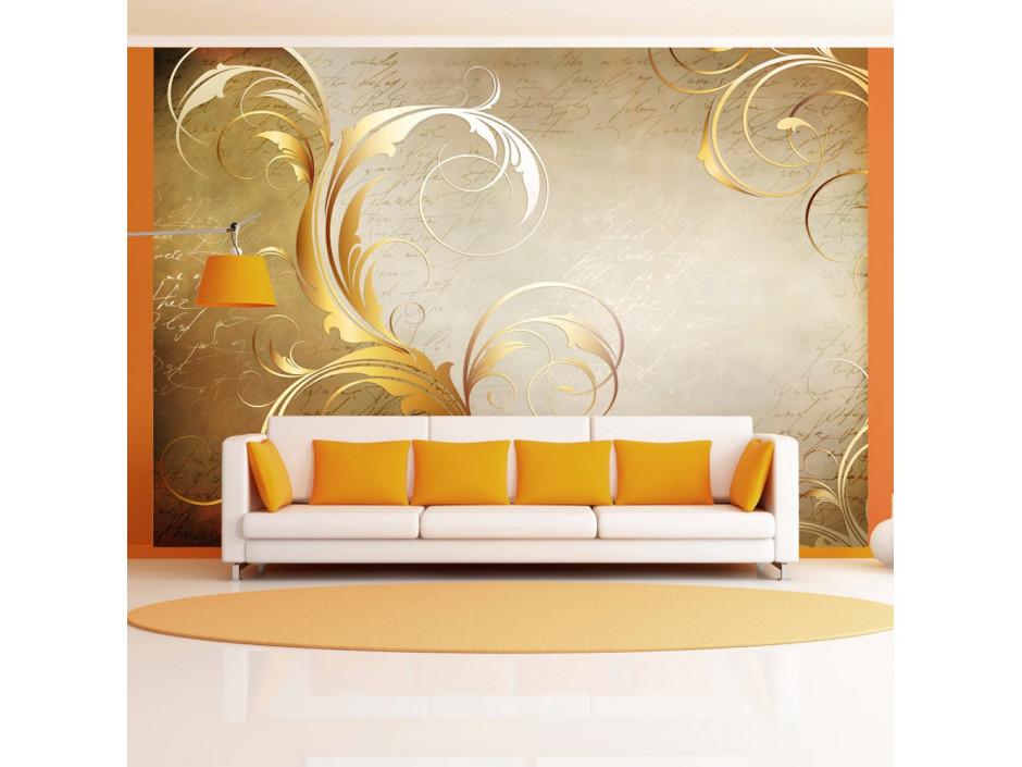 Papier peint - Gold leaf