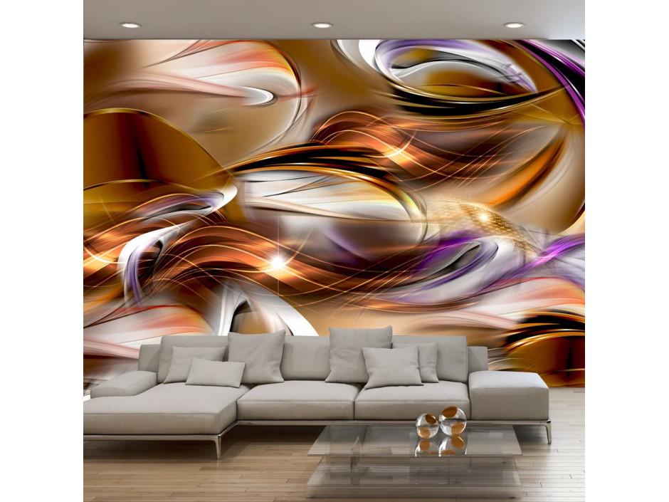 Papier peint - Mer d'amber
