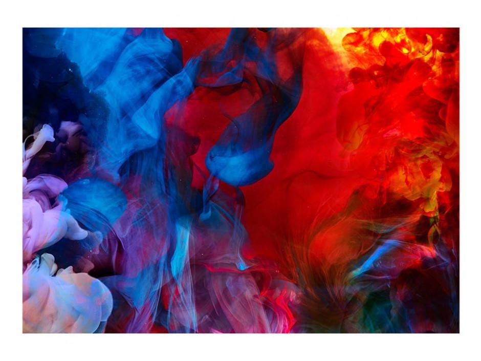 Papier peint   Colored flames