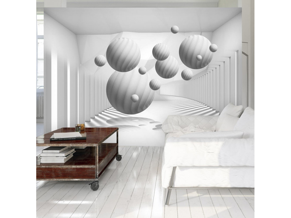 Papier peint  Balls in White