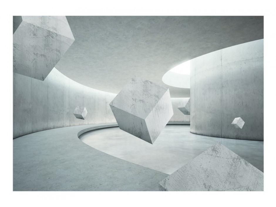 Papier peint  Geometry of the Cube