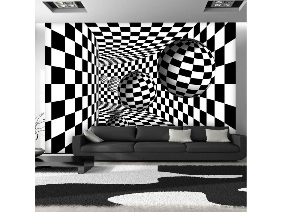 Papier peint - Black & White Corridor