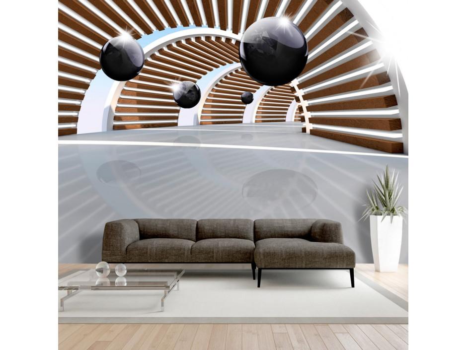 Papier peint -  Sky Tunnel