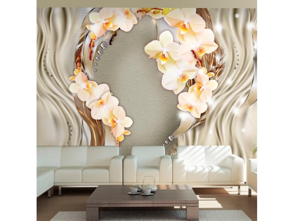 Papier peint  Wreath of orchids