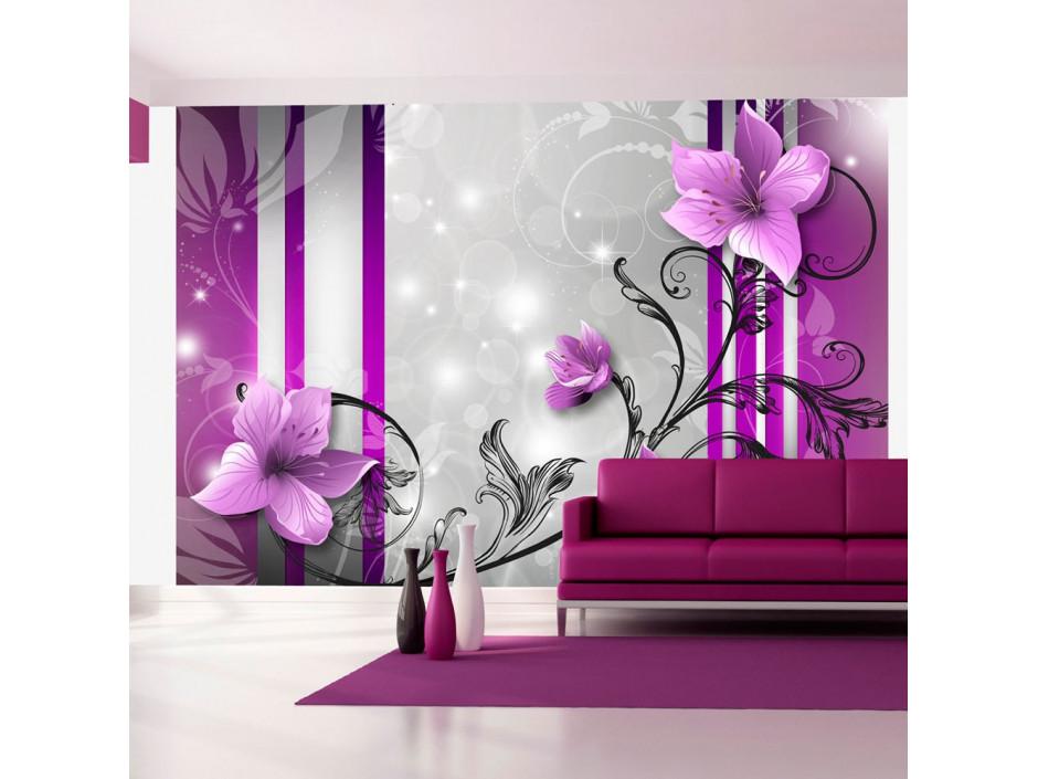 Papier peint  Violet buds