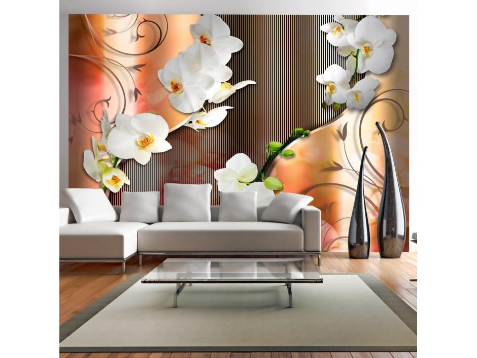 Papier peint  Orchid