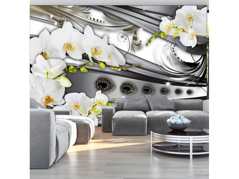 Papier peint - Orchids & jewelry