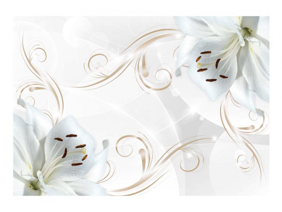 Papier peint  White dancers