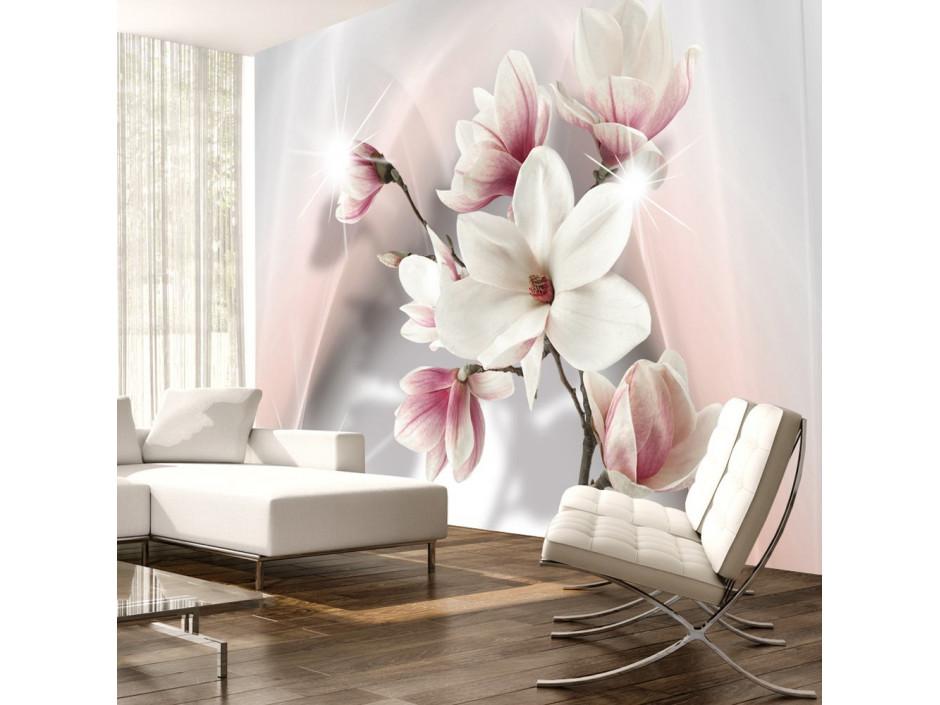 Papier peint - White magnolias