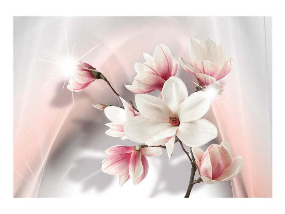 Papier peint  White magnolias