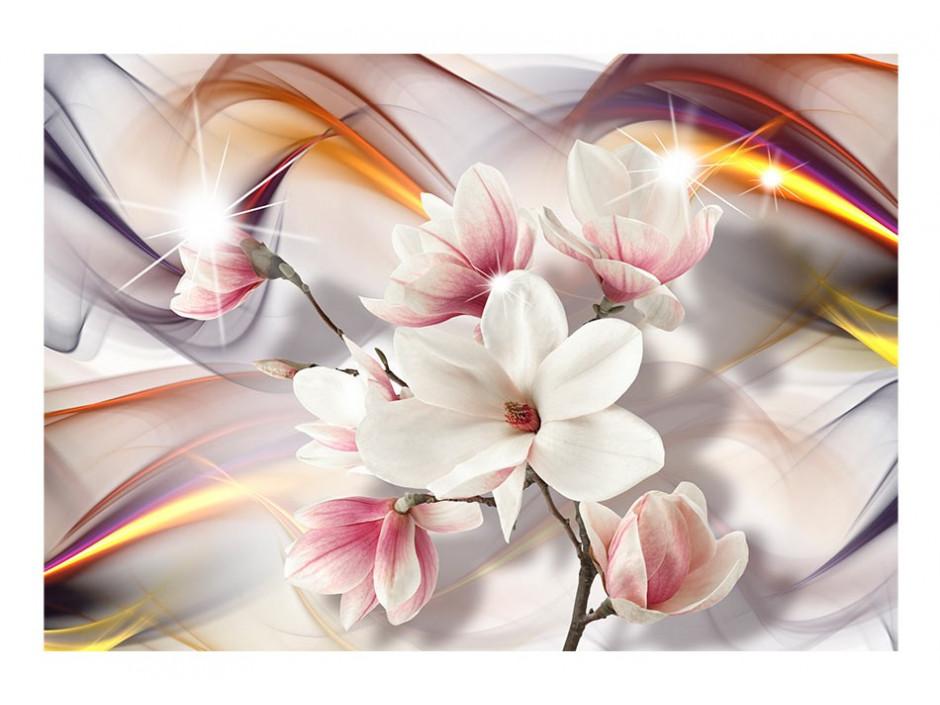 Papier peint  Artistic Magnolias