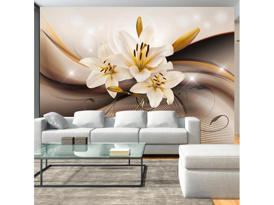 Papier peint - Golden Lily