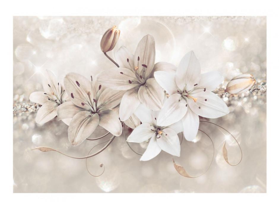 Papier peint  Diamond Lilies
