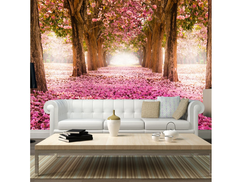 Papier peint  Pink grove