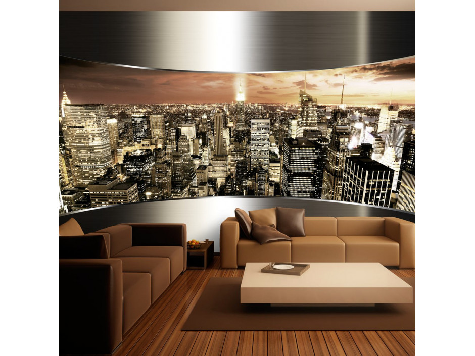 Papier peint  Panorama de New York