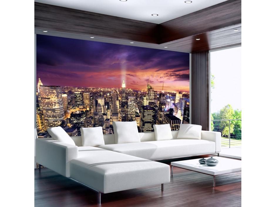 Papier peint  Evening in New York City