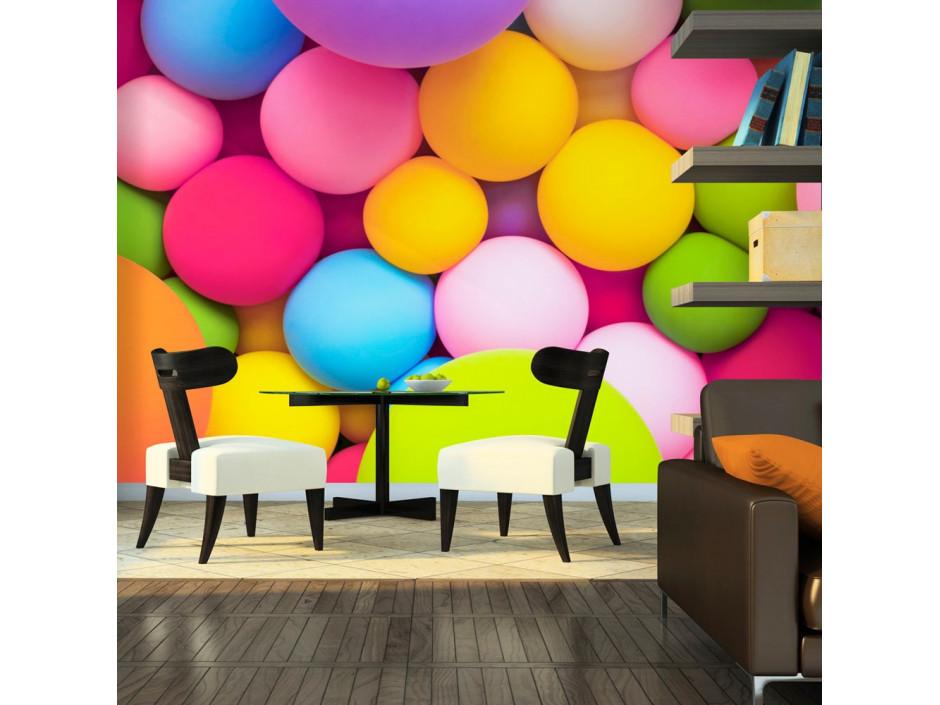 Papier peint  Colourful Balls