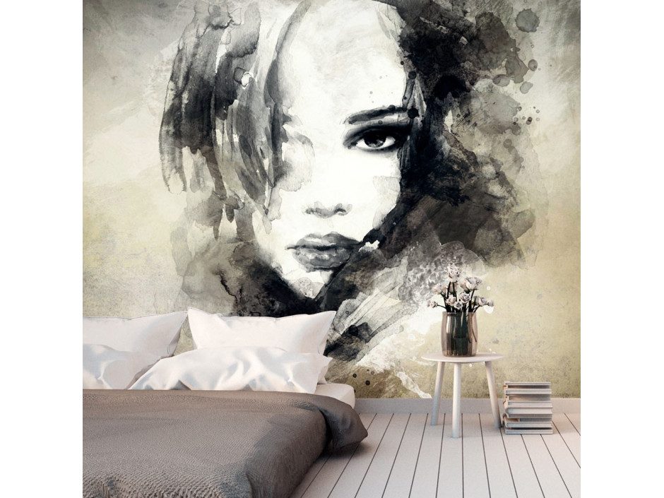 Papier peint  Mysterious Girl