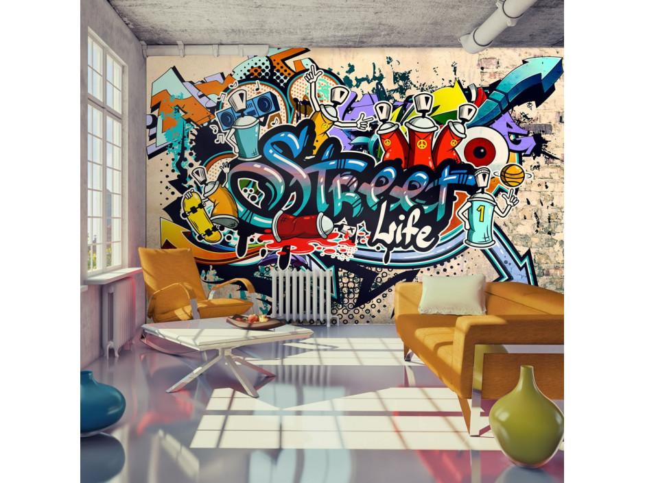 Papier peint  Street Life