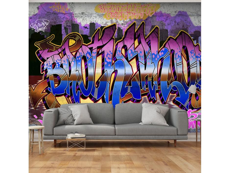 Papier peint   Colorful Mural