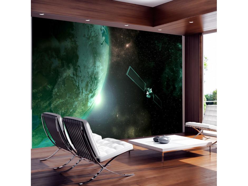 Papier peint  Planète verte
