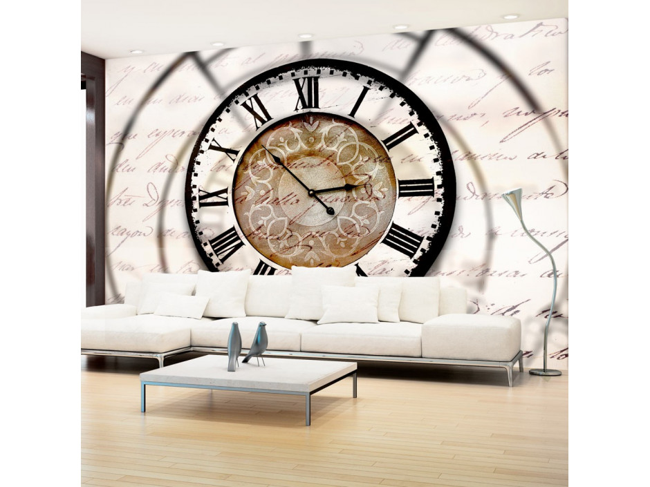 Papier peint  Clock movement