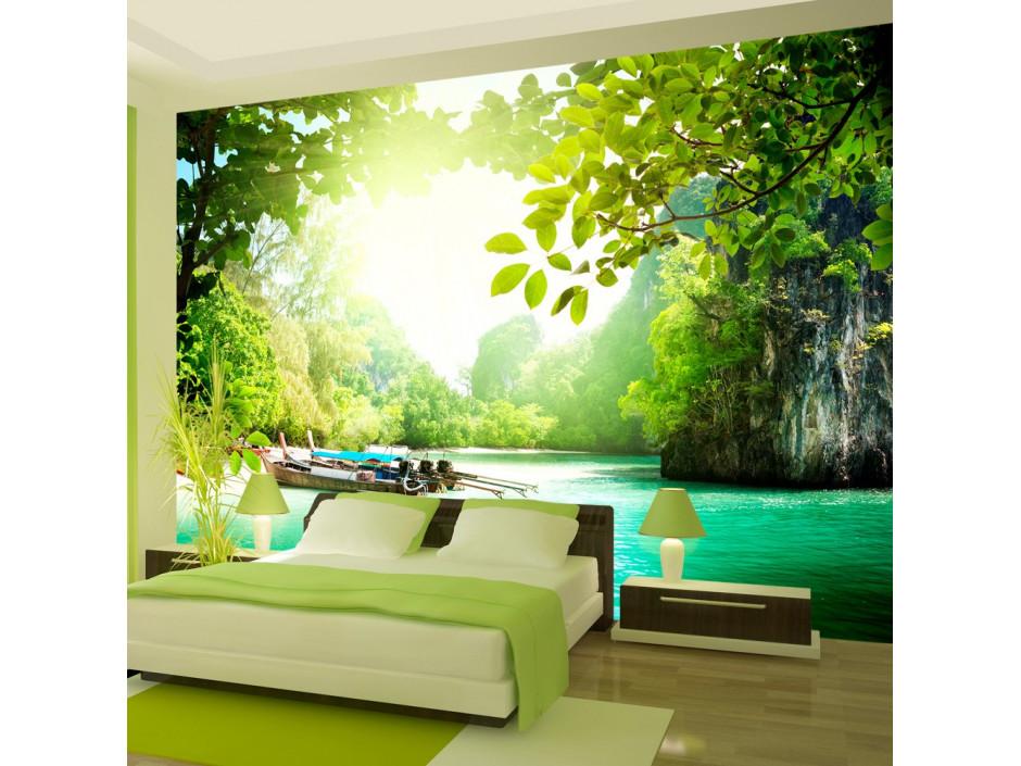 Papier peint  Paradis