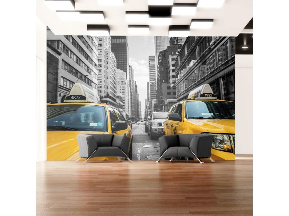 Papier peint  New York taxi