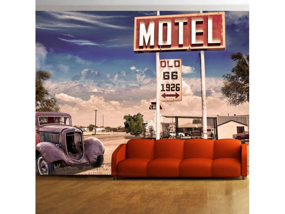 Papier peint - Old motel