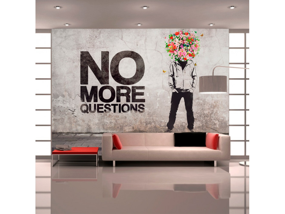 Papier peint  No more questions