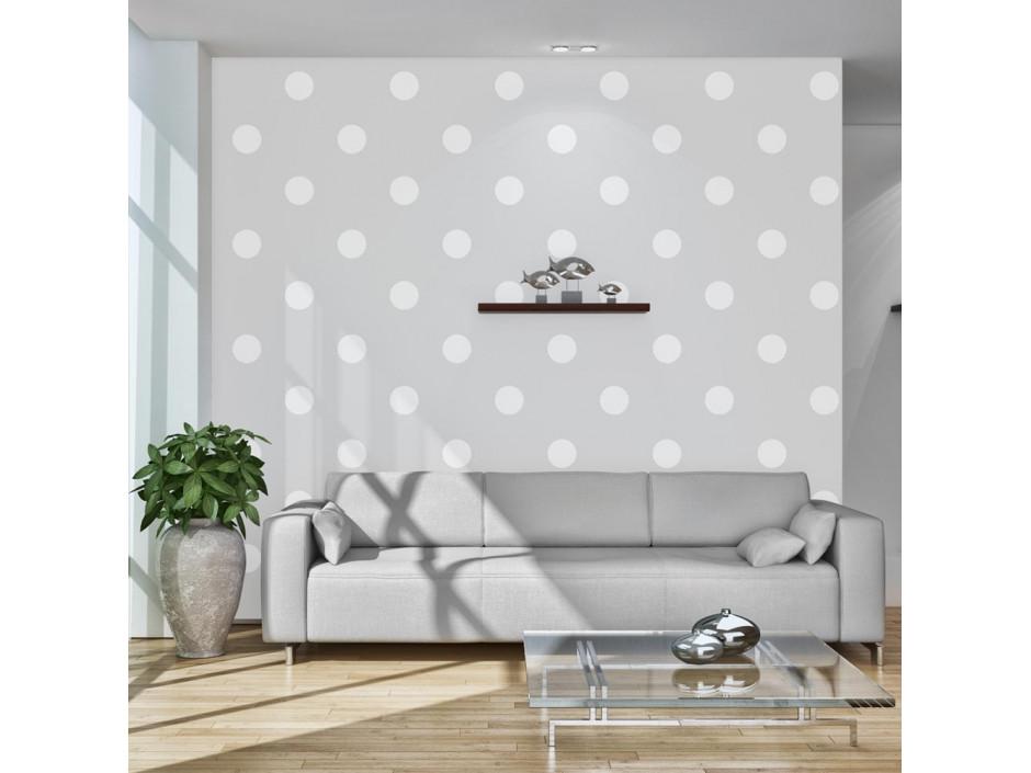 Papier peint  Cheerful polka dots