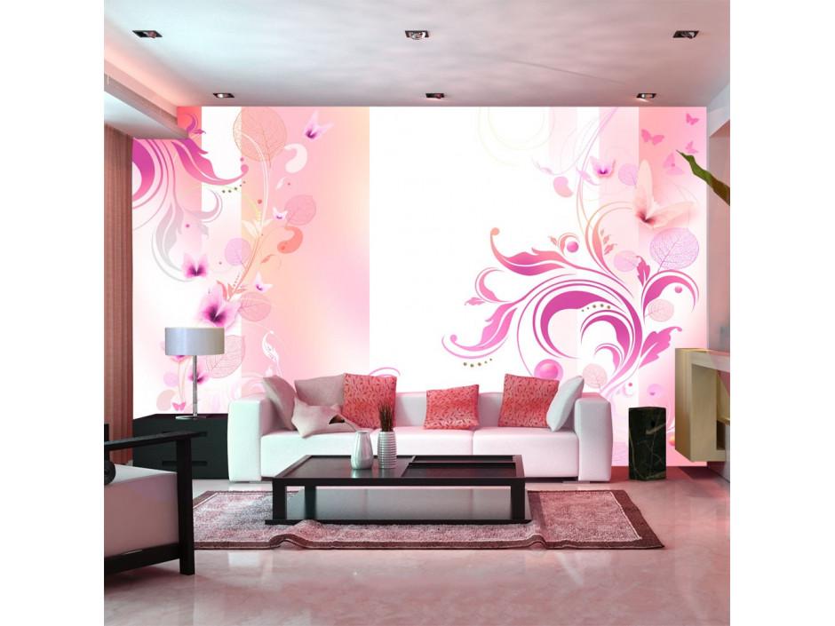 Papier peint  Rose passion