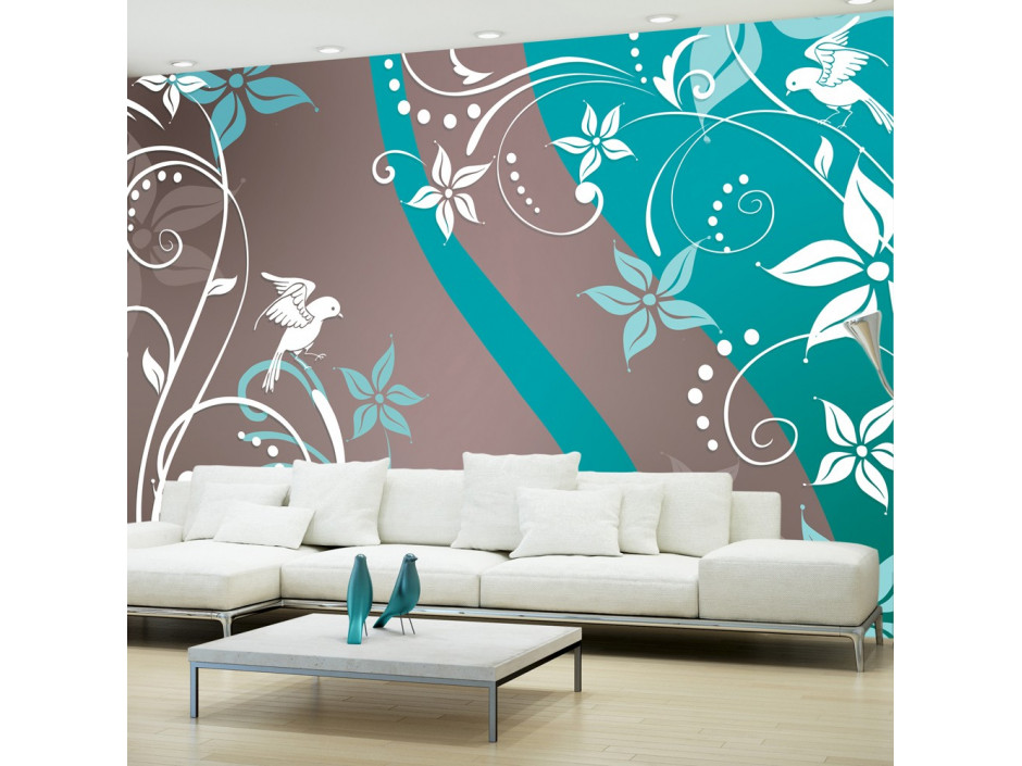 Papier peint  Floral fantasy III