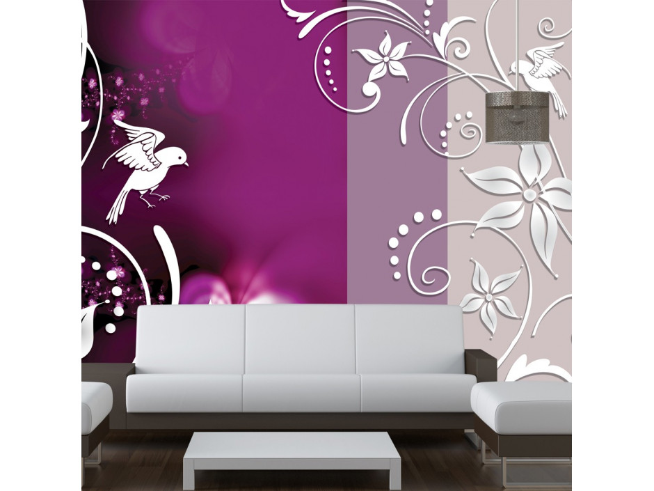 Papier peint - Floral fantasy