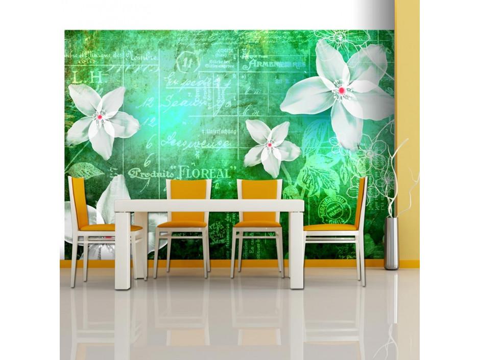 Papier peint - Floral notes III