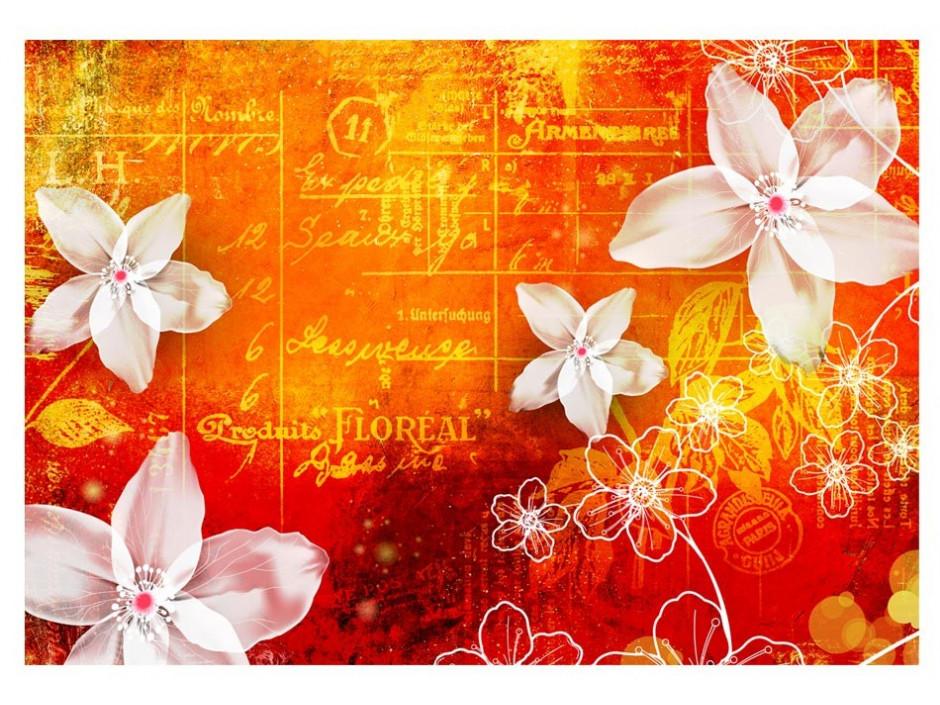 Papier peint  Floral notes II