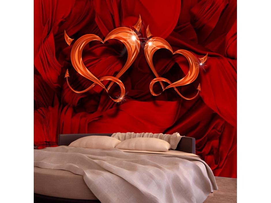 Papier peint  Two hearts