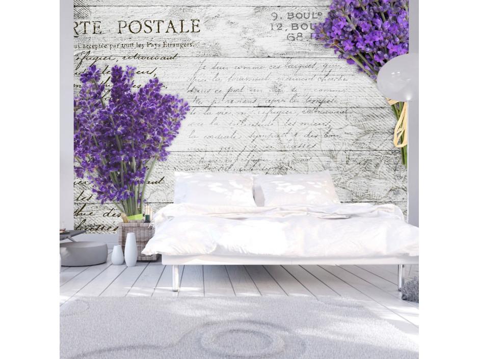 Papier peint  Lavender postcard