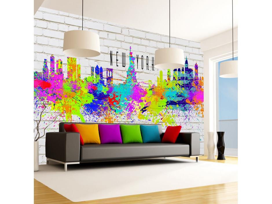 Papier peint - Colors of New York