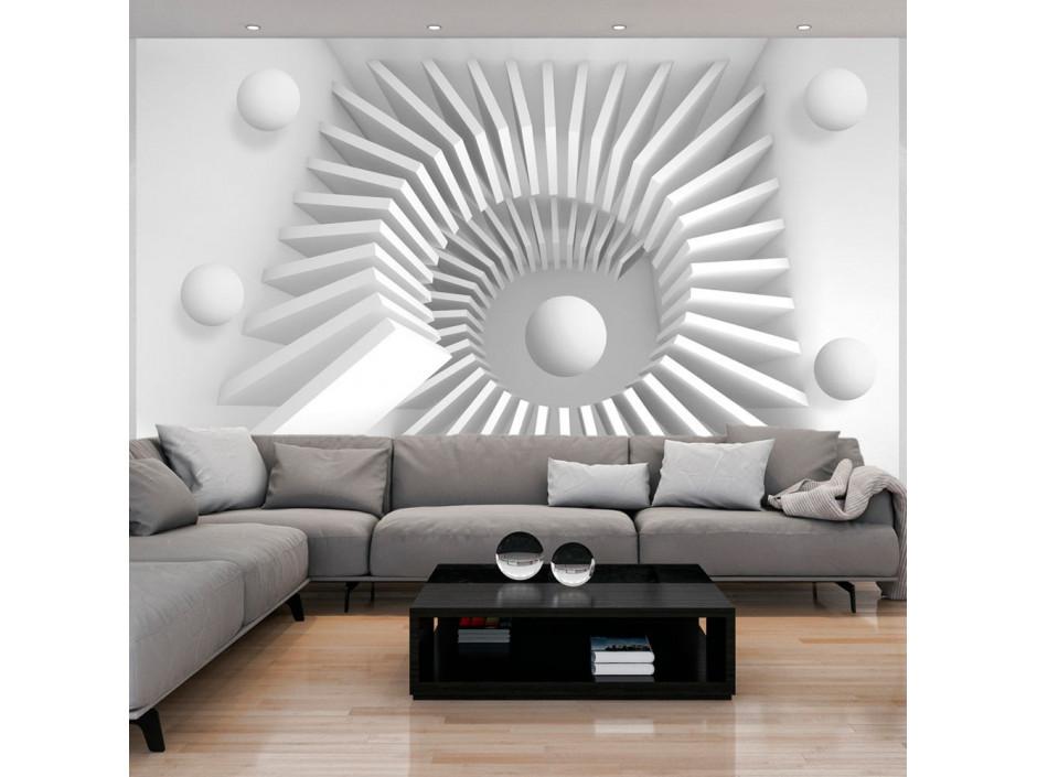 Papier peint - White jigsaw